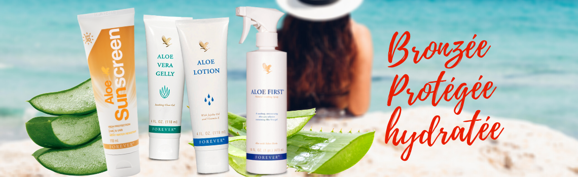 Sunscreen First Aloe lotion gelée