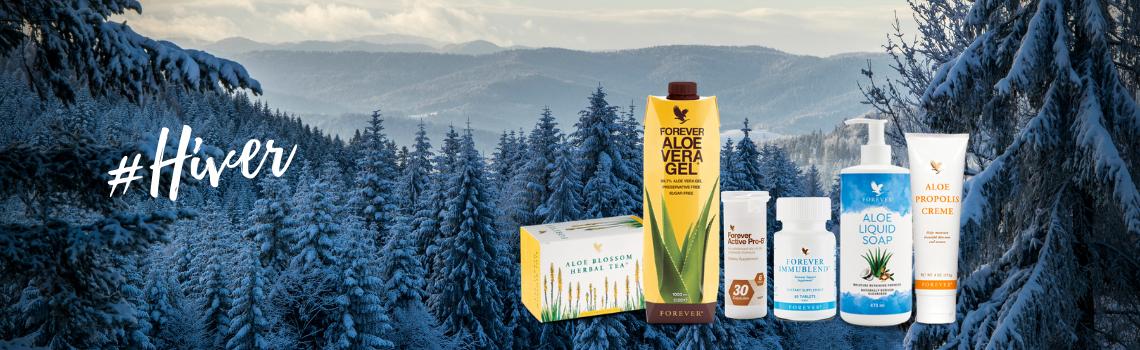 Les produits du moment : janvier, en plein dans l'hiver