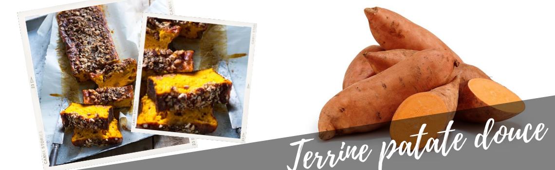 Terrine de patate douce